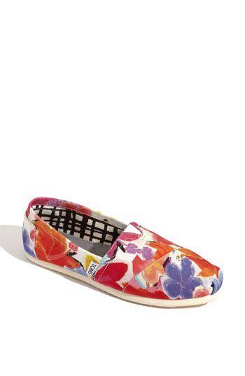 TOMS 'Corbel Classic' Slip-On: Floral Prints, Toms Shoes, Flowers Toms, Clothing Shoes, Toms Corbel, Corbel Classic, Shoes Obsession, New Shoes, Floral Toms