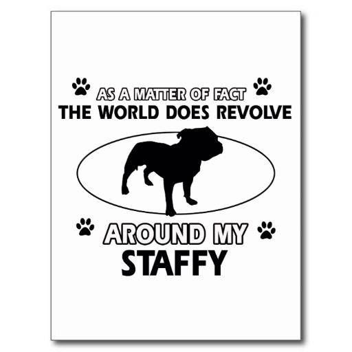 Hell Yeah - Because the are just amazing dogs to have in your life #StaffordshireBullTerrier