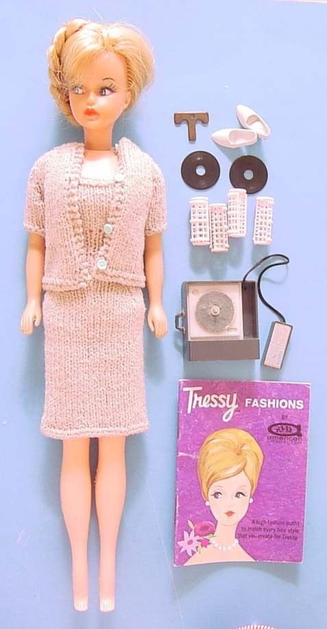 1960s Am Char Tressy Doll W Knit Outfit Key Turntable Records Curlers 1960s The O Jays And Keys