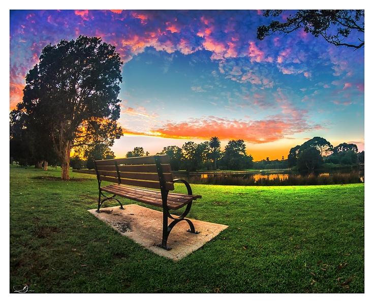 A Bench With a View by mdomaradzki.deviantart.com on @deviantART