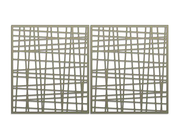 modern gate pattern
