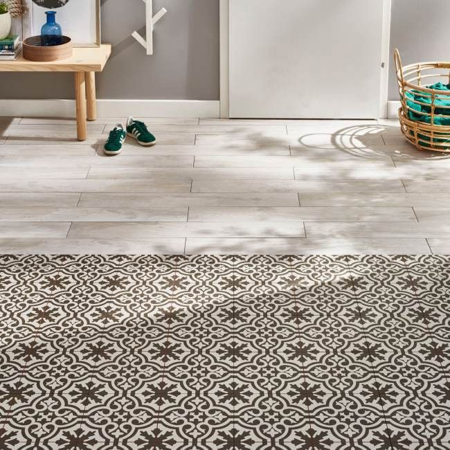 Terakota Berkeley 45 X 45 Cm Charcoal 1 M2 Decorative Tile Kitchen Floor Tile Stylish Interior Design
