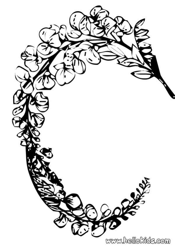 You Will Love To Color A Nice Coloring Page Enjoy This Wreath Of Flowers