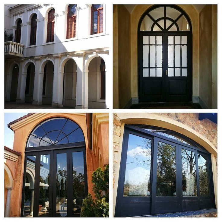 Photos of door with arches on top. Just love this.
