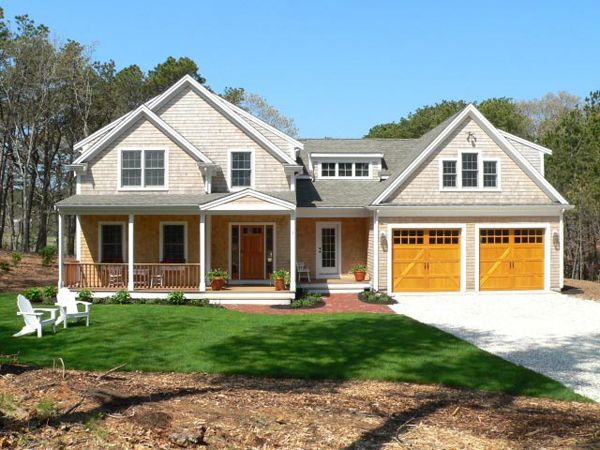 Cape Cod House With Garage : Best images about for the home cape cod addition ideas