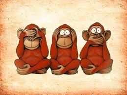 Image result for three monkeys illustration