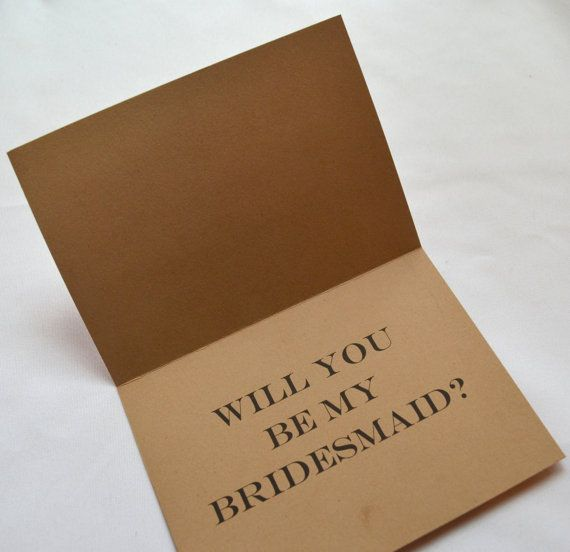 Will you be my BRIDESMAID sht just got by invitesbythisandthat