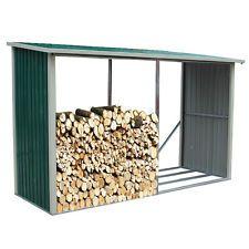 Habit Legnaia in lamiera 182x89xh190cm stoccaggio legno giardino esterno WOOD A
