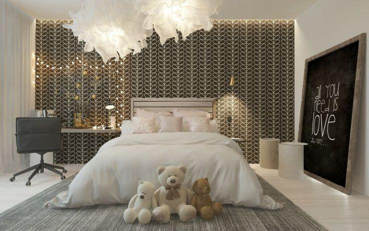 Chambre pour enfant avec d�co sophistiqu�e en 46 exemples