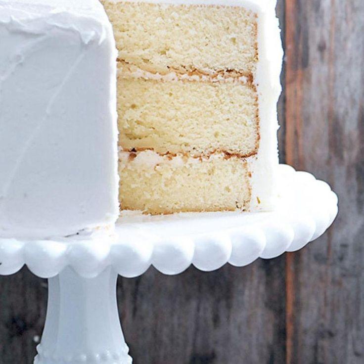 Best Buttermilk White Cake Recipe {Ever} - Cooking   Add a Pinch
