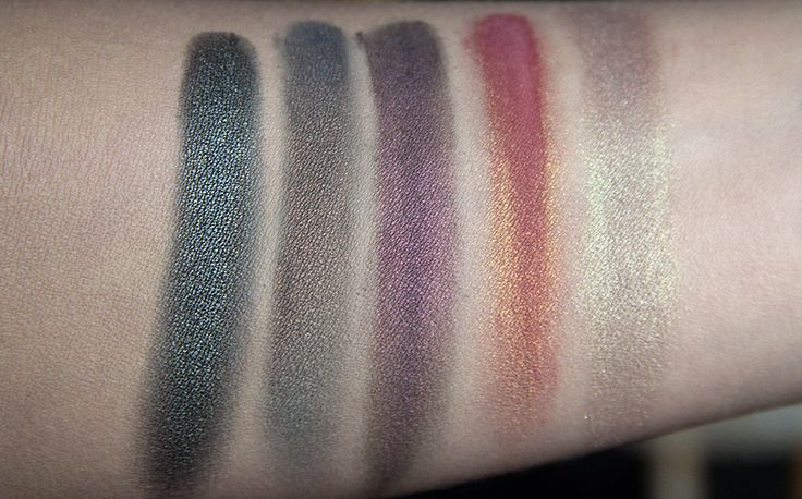 femme fatale cosmetics golem puzzle watery grave bat wing hall wildvine swatch