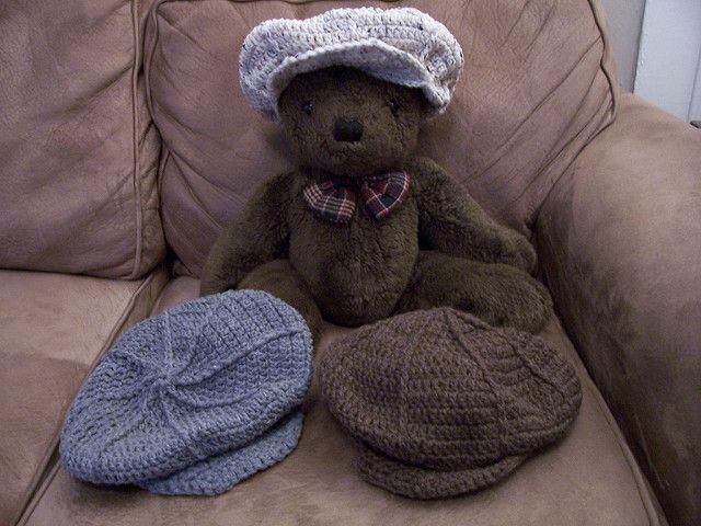 Craft Passions: Boy's Flat Cap ..# free #Crochet pattern link here