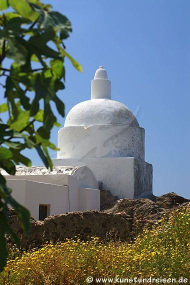 Chiesa vecchia sull'isola di Lipari