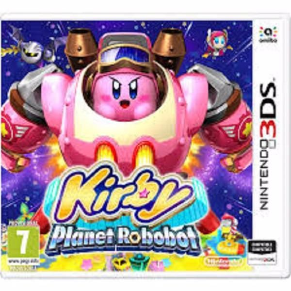 juego 3ds kirby planet robobot