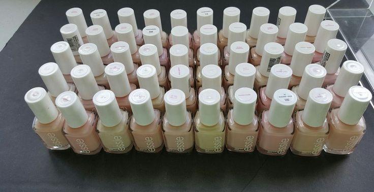 Lot of 50 ESSIE Wholesale Nail Polish PALE PINK mix Baby Bridal Shower Favor  #Essie