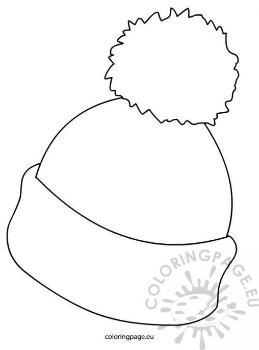 Colouring Pages Winter Hats New Calendar Template Site
