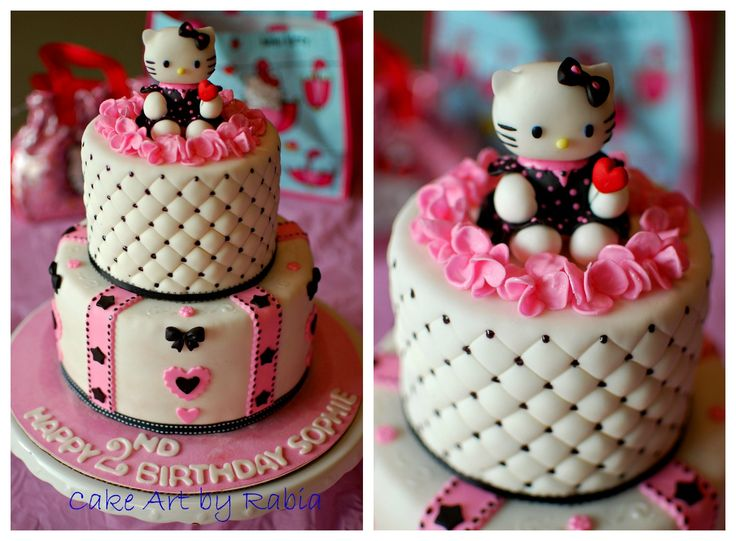 Hello kitty cake photos and kitty on pinterest