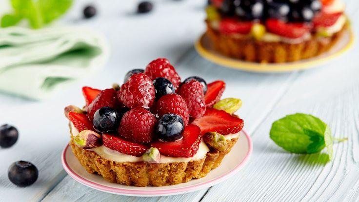 Tartaletki owocowe z kremem cytrynowym (+przepis na żel!)