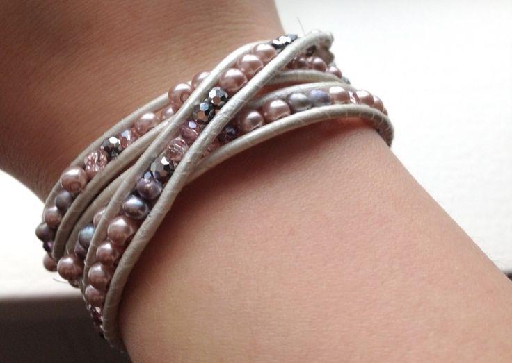 Chan Luu Bracelet Tutorial   chan luu wrap bracelet tutorial   The Little Green Homemaker