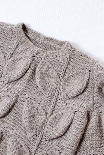 Designer Pullover mit Zopfmuster stricken: Komplette Anleitung