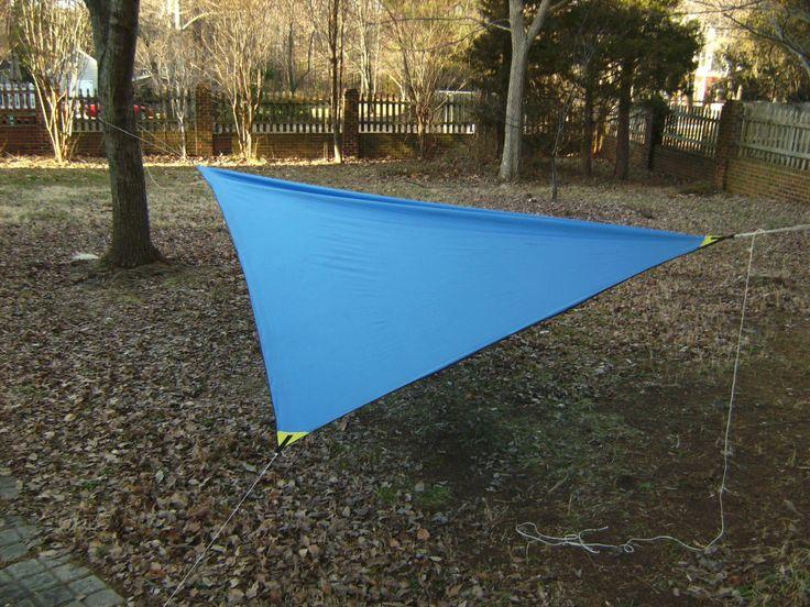 easy camping tips   camping tarp and camping hammock  rh   pinterest