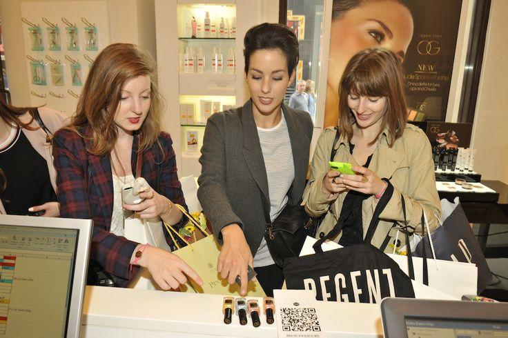 Luxury manicures at @The Organic Pharmacy #RegentTweet #RegentStreet