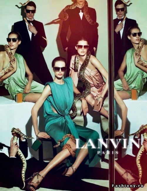 Рекламные кампании Весна- Лето 2012 Lanvin, Boss Black ,Ginerva, Kira Plastinina / boss костюмы мужские