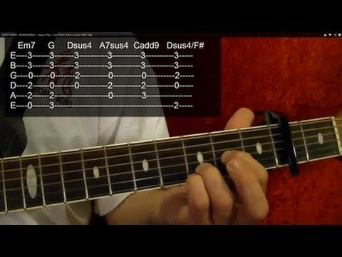 WONDERWALL CHORDS by Oasis @ Ultimate-Guitar.Com