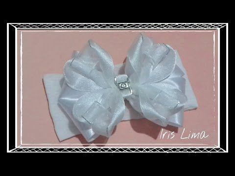 Como fazer laço tradicional / D.I.Y. ,Tutorial , Pap - How To Make a Hair Bow - YouTube
