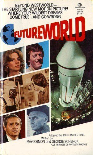 Westworld Futureworld  #Westworld  #Futureworld  #PeterFonda  #YulBrynner  #ScienceFiction  #SciFi  #Books  #Kamisco