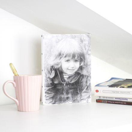 Appliquer une photo de famille ou de ses enfants sur une toile