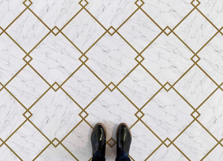 Fitzgerald In 2020 Vinyl Flooring Marble Vinyl Tile