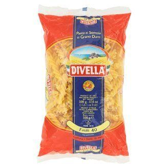 Divella Fusilli 40 Pasta 500g * To view further for this item, visit the image link.