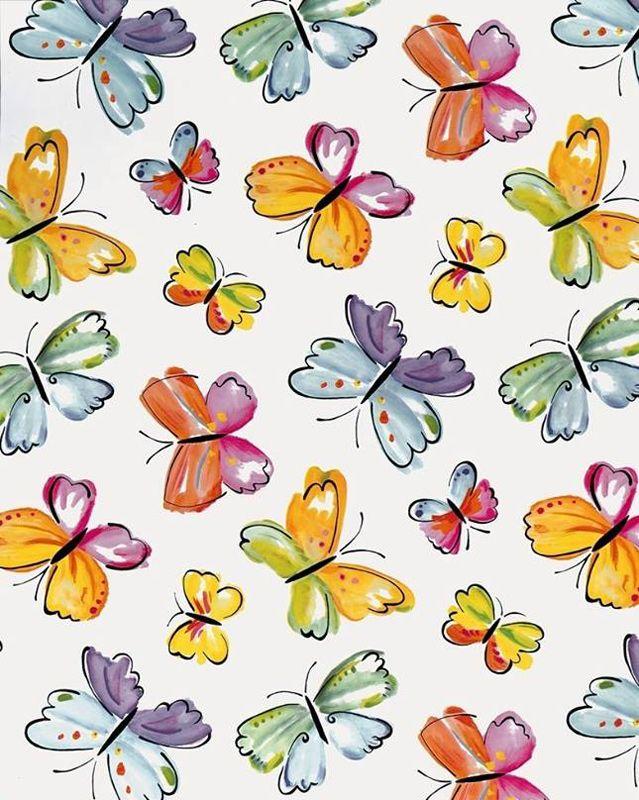 Autocolant decorativ Fluturi multicolori pentru mobila si decoratiuni interioare. Comanda o gama variata de Autocolant decorativ pe AA-Design-Interior.ro.