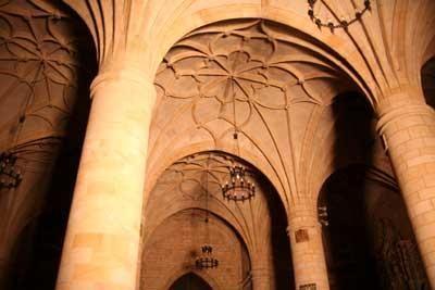 Tópicas bóvedas góticas **