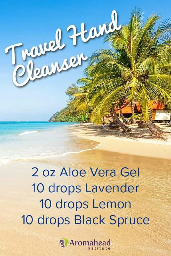 Travel Hand Cleaner Essential Oils Health Essential Oil