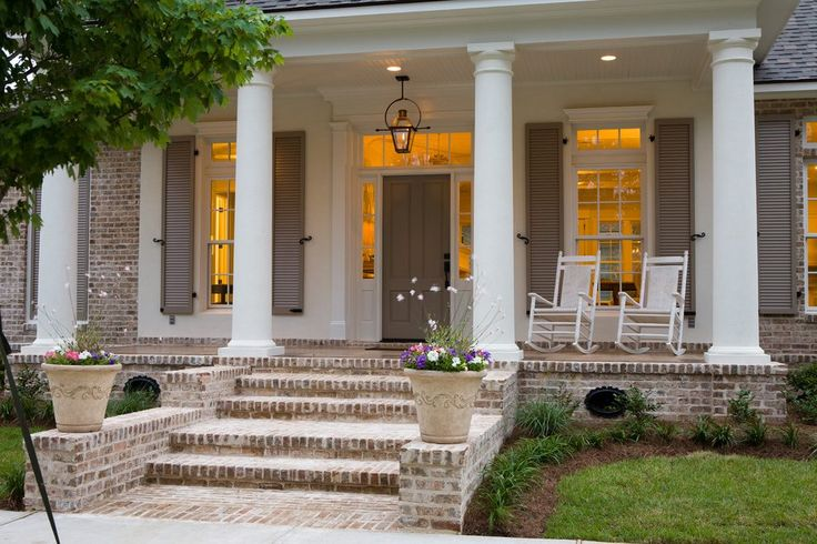 weathered cedar front porch   front porch stair exterior craftsman with wood shingles traditional porch swings