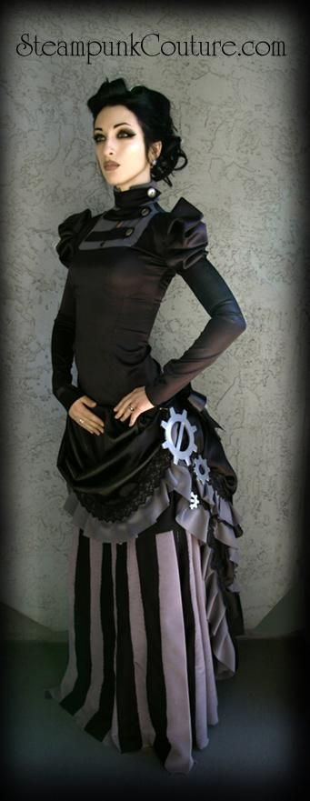 created by Steampunk Kato.  I thought i'd pinned this before, but oh well... this dress is awesome! :)