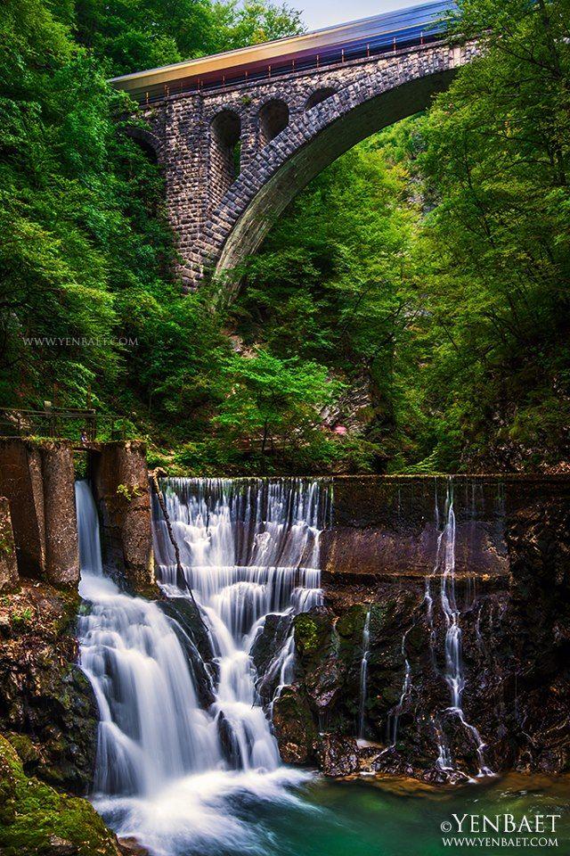 Vintgar Gorge in Triglav National Park