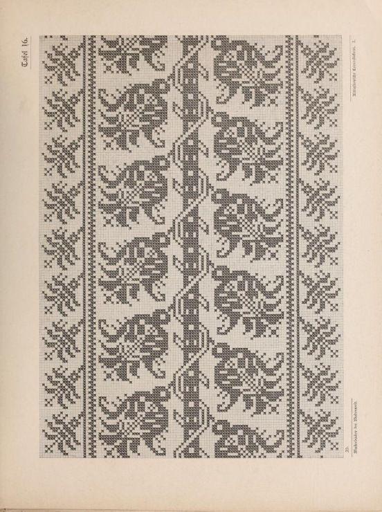 Gallery.ru / Фото #51 - Musterbucher altitalienischer Leinen Stickerei 1881 - shtushakutusha