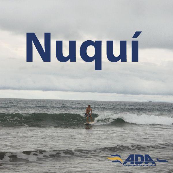 ¿Sabias qué los fuertes vientos que llegan a Nuquí producen excelentes olas para surfear?