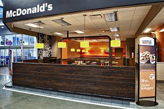 McDonald's in Walmart - Surprise, AZ #mcdonalds #design #restaurant