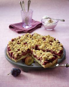 Unser beliebtes Rezept für Pflaumenkuchen mit Zimtstreuseln und mehr als 55.000 weitere kostenlose Rezepte auf LECKER.de.