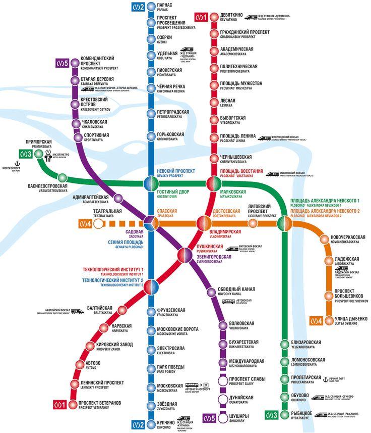 St Petersburg Subway Map Toursmapsstpetersburg: St Petersburg Russia Metro Map At Infoasik.co