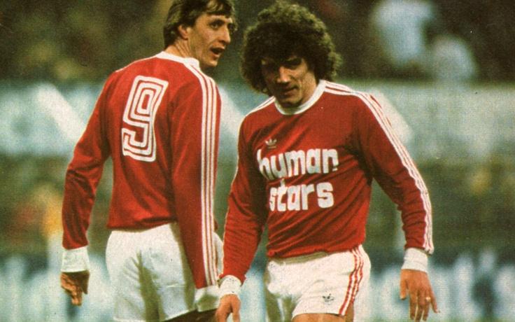 "Les ""Human Stars"" 1979 : Cruiyff & Keegan"