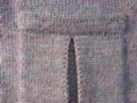 Pleated Pocket - Part 1 Tutorial For Machine - Single Bed | Machine Knitting Tutorial