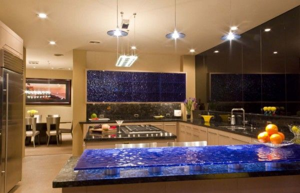 Interior Kitchen Ideas at Modern House Design Ideas by Sefcovic Residence in Arizona 600x387 Modern House Design Ideas by Sefcovic Residence in Arizona