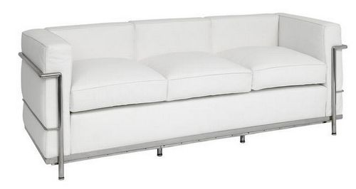 le corbusier sofá sillon decoración decoration color blanco white miraquechulo: Decor Colors, Corbusier White, 3 Seats Sofas, Le Corbusier, Colors Blanco, Blanco White, Corbusier Sofas, Corbusier Sofá, Corbusier 3 Seats