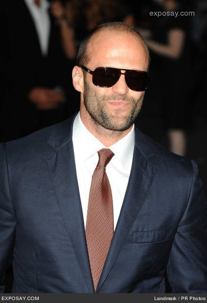 Jason Statham-omg I want to exfoliate my body with his face!!! Yummy!! ---THAT COMMENT!