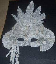 Image result for recycled mask ideas